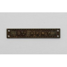 WW2 8th Army Medal Clasp for Africa Star