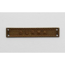 WW2 Burma Medal Clasp for Pacific Star