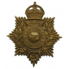 Royal Marines Helmet Plate - King's Crown
