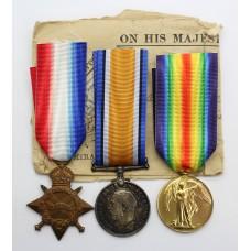 WW1 1914-15 Star Medal Trio - Writer G.E. Colborn, Royal Navy