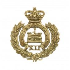 Victorian Suffolk Regiment Officer's No.3 Dress Collar Badge