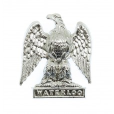 Royal Scots Greys Anodised (Staybrite) Collar Badge