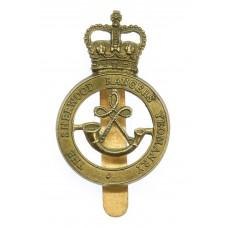 The Sherwood Rangers Yeomanry Cap Badge - Queen's Crown