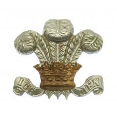 3rd P.W.O. Dragoon Guards Collar Badge