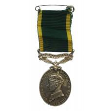 George VI Territorial Efficiency Medal - Lieut. G.F. Armitage, Ro