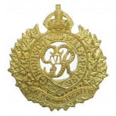 George VI Royal Canadian Engineers Cap Badge