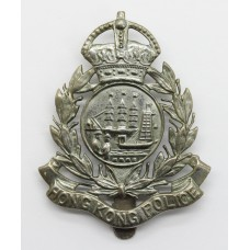 Hong Kong Police Cap Badge - King's Crown