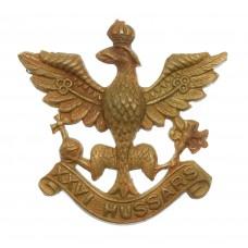 26th Hussars Cap Badge