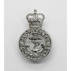 Admiralty Constabulary Collar Badge - Queen's Crown