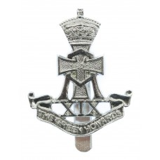 Green Howards Anodised (Staybrite) Cap Badge