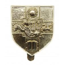Bristol University O.T.C. Anodised (Staybrite) Cap Badge