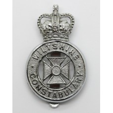 Wiltshire Constabulary Cap Badge - Queen's Crown