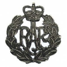 Royal Air Force (R.A.F.) Blackened Anodised (Staybrite) Cap Badge