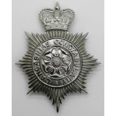 Lancashire Constabulary Helmet Plate - Queen's Crown