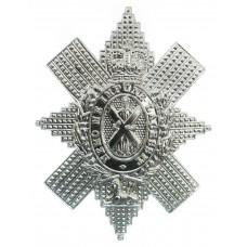Black Watch (Royal Highlanders) Anodised (Staybrite) Cap Badge -