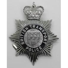 British Transport Police Helmet Plate - Queen's Crown