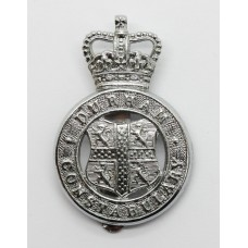 Durham Constabulary Cap Badge - Queen's Crown