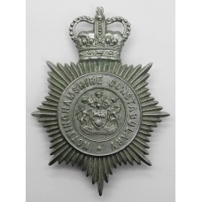 Nottinghamshire Constabulary Helmet Plate - Queen's Crown