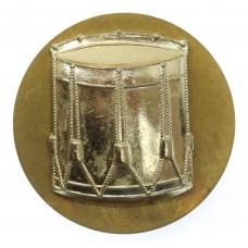 British Army Drummer's Drum Anodised (Staybrite) Arm Badge