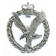 Army Air  Corps Anodised (Staybrite) Cap Badge