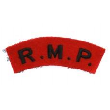 Royal Military Police (R.M.P.) Cloth Shoulder Title