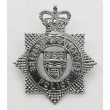 British Transport Police (B.T.P.) Cap Badge - Queen's Crown