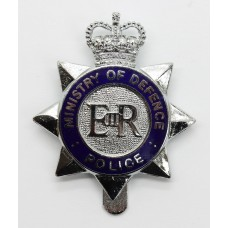 Ministry of Defence Police Enamelled Cap Badge - Queen's Crown