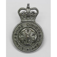 Lancashire Constabulary Cap Badge - Queen's Crown