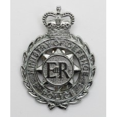 Ministry of Defence Police Cap Badge - Queen's Crown