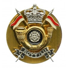 King's Own Yorkshire Yeomanry Light Infantry (K.O.Y.Y.(L.I.)) Cap Badge
