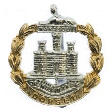 Dorset Regiment Anodised (Staybrite) Cap Badge