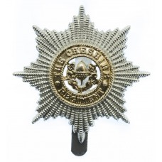 Cheshire Regiment Anodised (Staybrite) Cap Badge
