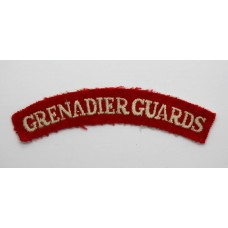 Grenadier Guards (GRENADIER GUARDS) Cloth Shoulder Title
