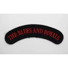 The Blues & Royals (THE BLUES AND ROYALS) Cloth Shoulder Title