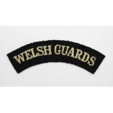 Welsh Guards (WELSH GUARDS) Cloth Shoulder Title