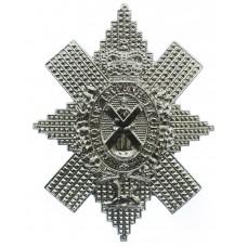Black Watch (The Royal Highlanders) Anodised (Staybrite) Cap Badg
