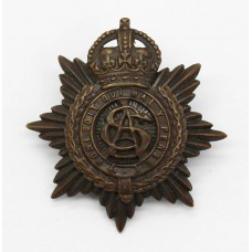 Army Service Corps (A.S.C.) Officer's Service Dress Cap Badge