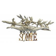 WWI Battle of the Somme Sweetheart Brooch