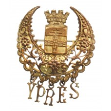 WWI Battle of Ypres Sweetheart Brooch