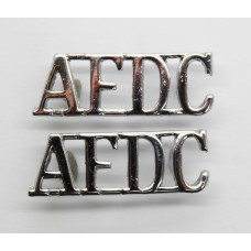 Pair of Air Force Department Constabulary (A.F.D.C.) Shoulder Tit