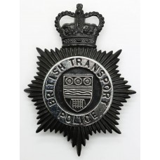 British Transport Police Night Helmet Plate - Queen's Crown