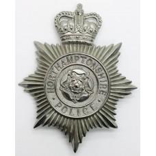 Northamptonshire Police Helmet Plate - Queen's Crown