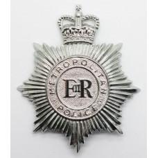 Metropolitan Police Noddy Bike Helmet Plate - Queen's Crown