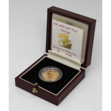 Royal Mint 1990 United Kingdom 22ct Gold Proof Sovereign Coin