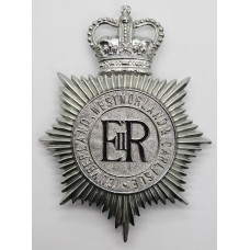 Cumberland, Westmorland & Carlisle Constabulary Helmet Plate