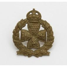 Inns of Court Regiment Collar Badge - King's Crown