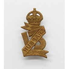13th Hussars Collar Badge - King's Crown