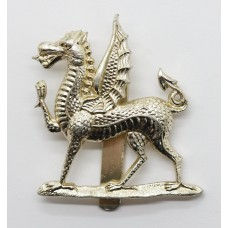 Monmouth School C.C.F. Anodised (Staybrite) Cap Badge