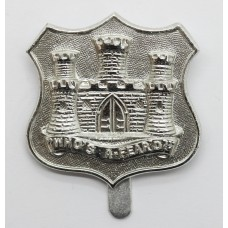 Dorsetshire Territorials Anodised (Staybrite) Cap Badge