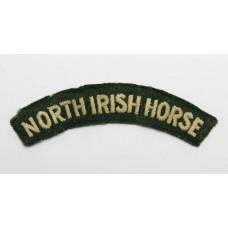 North Irish Horse (NORTH IRISH HORSE) Cloth Shoulder Title